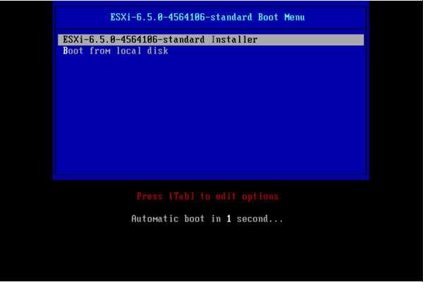 آموزش نصب ESXI
